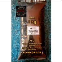BLACK CHARCOAL ACTIVED BAMBU POWDER Carbon Active BAMBU (FOOD GRADE)