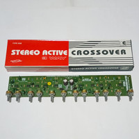 Kit 3 Way Professional Audio Active Crossover Stereo Ranic