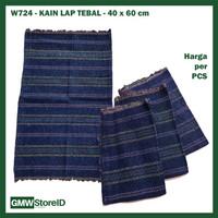 GROSIR Kain Lap 40x60 cm Warna Biru Pel Lantai Tebal Dapur Murah W724