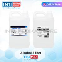 ONEMED - Alkohol 5 Liter   Alkohol Onemed   Alkohol Antiseptik   P3K
