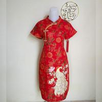 Dress Imlek Cheongsam Wanita Dewasa