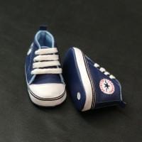 Prewalker Sepatu Bayi laki laki perempuan usia 2-15 bulan navy