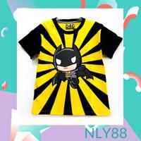 NLY88 Baju Anak / Kaos Anak Laki-laki Lengan Pendek Cute Bat 1-10