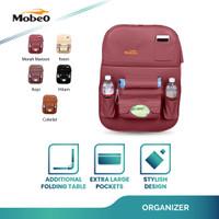 Mobeo Car Seat Organizer / Tas Jok PU Leather Kantong Besar (Size B)