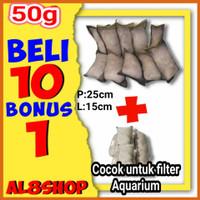 paket murah jaring bekas nelayan pengganti bioball japmat media filter