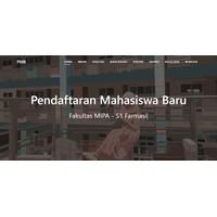 Sistem Aplikasi Pendaftaran Mahasiswa Baru (PMB) Berbasis Web V2