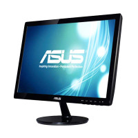 Asus VS197DE Monitor Komputer - Hitam [18.5 Inch]