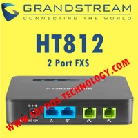 VOIP ATA Grandstream HT812 - 2 FXS Analog Telephone Adapter