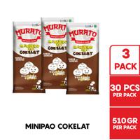 MURATO Minipao Cokelat @ 30 Pcs 510 Gr Multipack