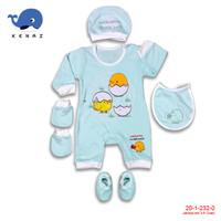 1pc BabyKenaz Jumpsuit Set Baby 3 - 6 Bulan Lengan Panjang (Random)