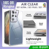 Case Samsung Galaxy S21 Ultra S21 Plus Ringke Air Soft Clear Casing - S21 Plus