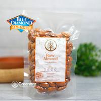 Kacang almond mentah kupas 250gr / raw whole almond