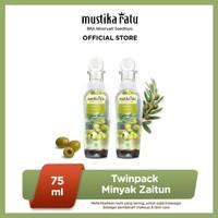 [Mustika Ratu] Twinpack Minyak Zaitun 75ml BEST SELLER