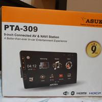 second like new asuka PT-309 head unit audio mobil jazz yaris hrv crv