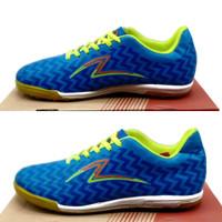 Sepatu futsal specs sepatu futsal pria sepatu olahraga - biru hijau, 39