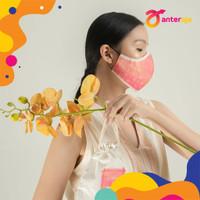 Anteraja x Kakena - Waterproof 2 layered Mask + Pouch - Bulan