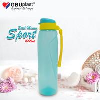 GBU BOTOL AIR MINUM SPORT 1000 ML / BOTOL AIR MINUM PLASTIK