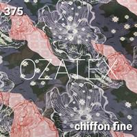 Kain Sifon Chiffon Fine Finey Viney Poton Motif Mix 22