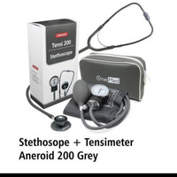 Tensimeter Aneroid Onemed + Stethoscope Onemed