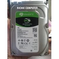 SEAGATE BarraCuda 1TB Hardisk Sata 3.5 Internal Hijau Slim PC/CCTV