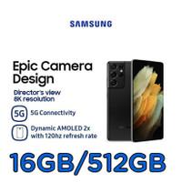 Samsung Galaxy S21 Ultra 5G 512GB/16GB + Free Buds Pro Black + Smart
