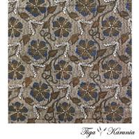 Kain Batik Print Murah Asli Solo Bahan Katun Halus Jarik Kebaya Modern - Dasaran Putih