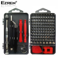 Ezren EZ-0958 Perangkat Obeng Presisi Set 112in1 Magnetik Screwdriver