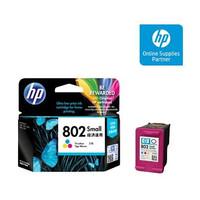 Catridge Tinta HP 802 Warna Colours