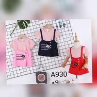 (TERIMA ECER DAN GROSIR)SETELAN/DRESS OVERALL 2PCS IMPOR BABY/ANAK