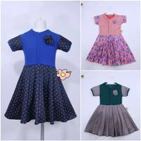 Dress maudy 5-6 tahun /Baju anak perempuan / gaun anak cewe