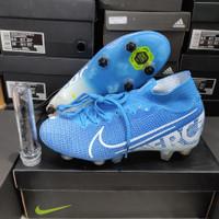 Sepatu Bola Nike Mercurial Superfly7 Elite blue hero AntiClog - soccer