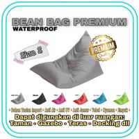 Small Kursi Santai Bean Bag Segitiga 63 x 110cm Fullset tinggal pakai