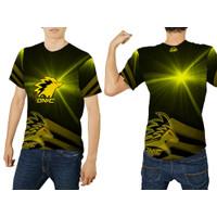 Baju Kaos Tshirt jersey Pria Gaming Onic Esport PUBG FF ML Custom 1&2
