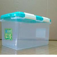 Ezy Smart Storage Box Container Plastik 15 liter