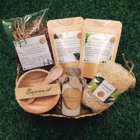 Hampers Natal Imlek Wisuda Gift Set Wooden Parcel Lebaran Kado Custom