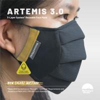 [MUSTARD] ARTEMIS 3.0   Triple Layer System   Masker 3 Lapis