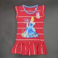 Disney Original Princess Dress Baju Anak Perempuan Pakaian 15050158 - 4