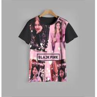 baju anak BLACKPINK v4 kaos anak BLACKPINK v4 (1-12 tahun)