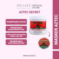 AZTEC HEALING CLAY MASK - MASKER TERAMPUH UNTUK KULIT BERJERAWAT SHARE