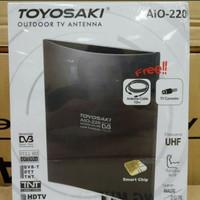 Antena Tv Indoor Outdoor/Anten Tv Digital Analog TOYOSAKI AIO-220