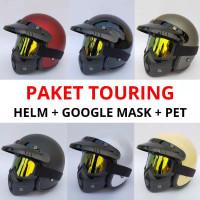 helm bogo retro google mask