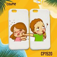 Soft Case Hard Case Couple Cewek Cowok Pacar Pasangan - Doff