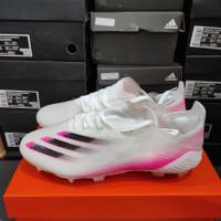 Sepatu Bola Adidas X 1 Ghosted White Pink Fg - Sepatu soccer adidas