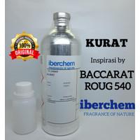 KURAT BIBIT PARFUM MURNI 100 ML BY IBERCHEM ( BACCARAT ROUG 540 )