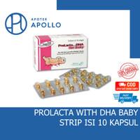 PROLACTA FOR BABY DHA STRIP ISI 10 KAPSUL
