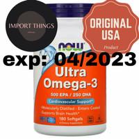 Now foods Ultra Omega-3, 180 Softgels
