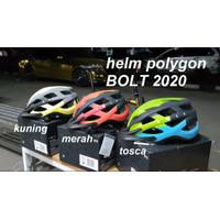 helm sepeda MTB murah polygon bolt new 2020 mtb xc lipat