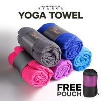Yoga Mat Towel with Bag Anti Slip, Anti Bacterial Washable