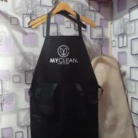 apron waterproof / celemek masak / custom apron