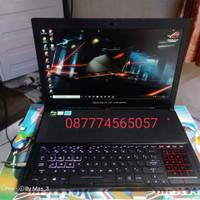 laptop asus rog zephyrus GX501 VIK i7 gtx 1080 maxQ